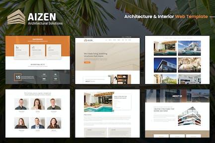 AIZEN - Architecture & Interior Template