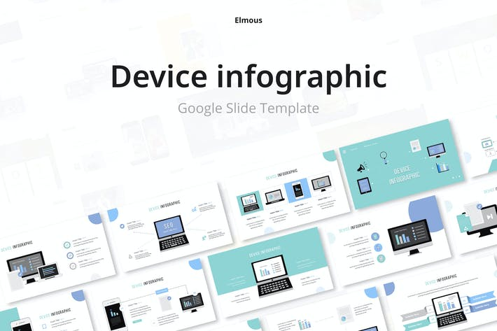 Device Infographic Google Slides Template