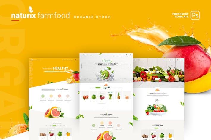 Thumbnail for Naturix - Organic Store