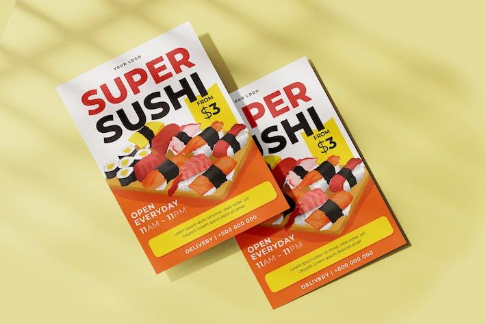 Thumbnail for Sushi Flyer