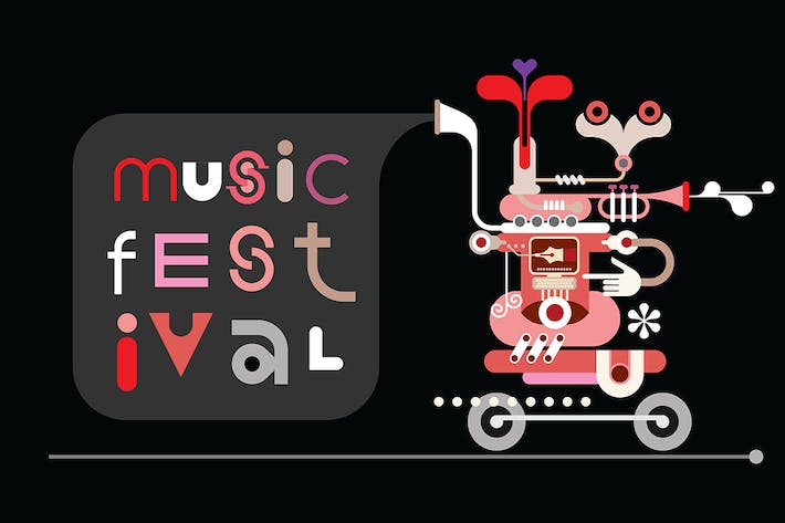 Thumbnail for Music Festival poster