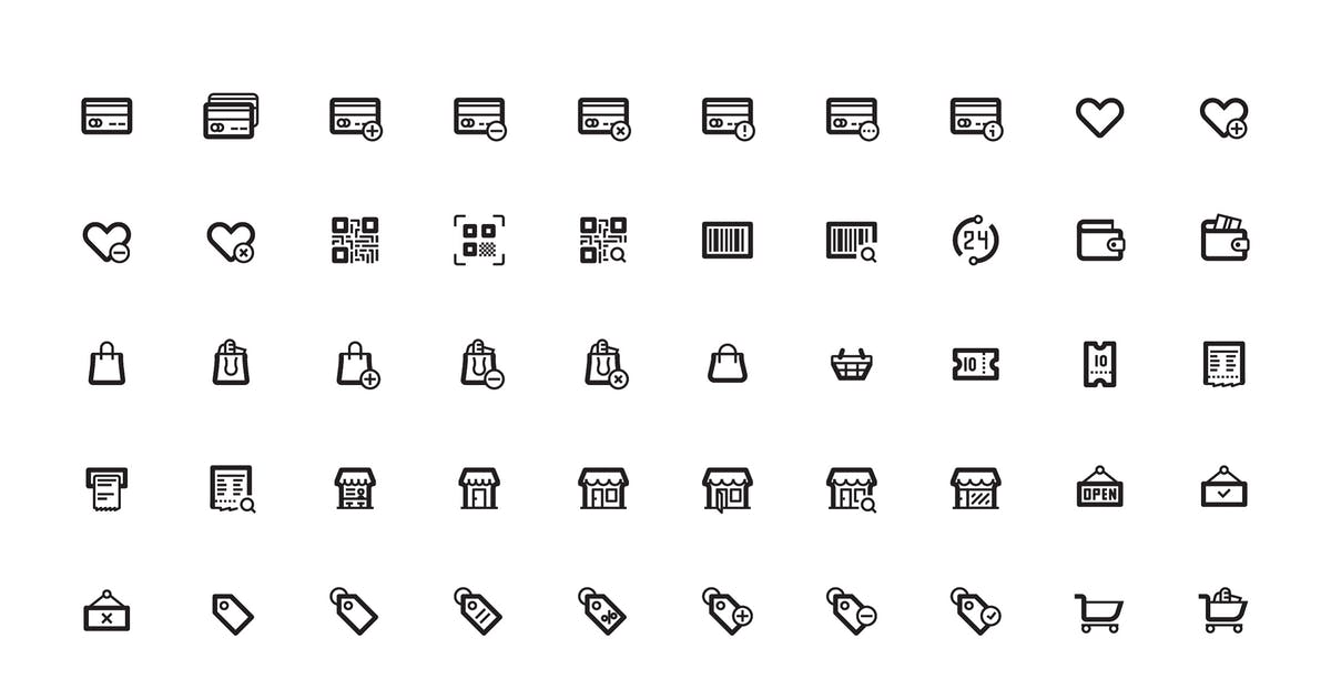 Download Thin Line UI Icons Pack Pixel Perfect by alexdndz