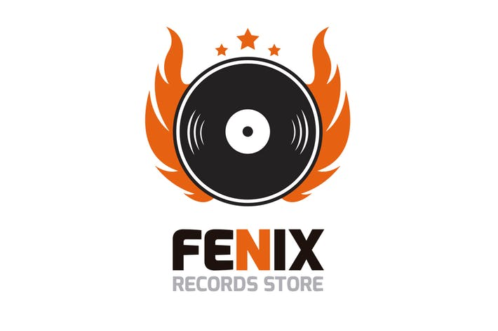 Thumbnail for Fenix Records Logo Template