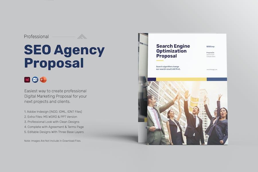 SEO Marketing Proposal Template