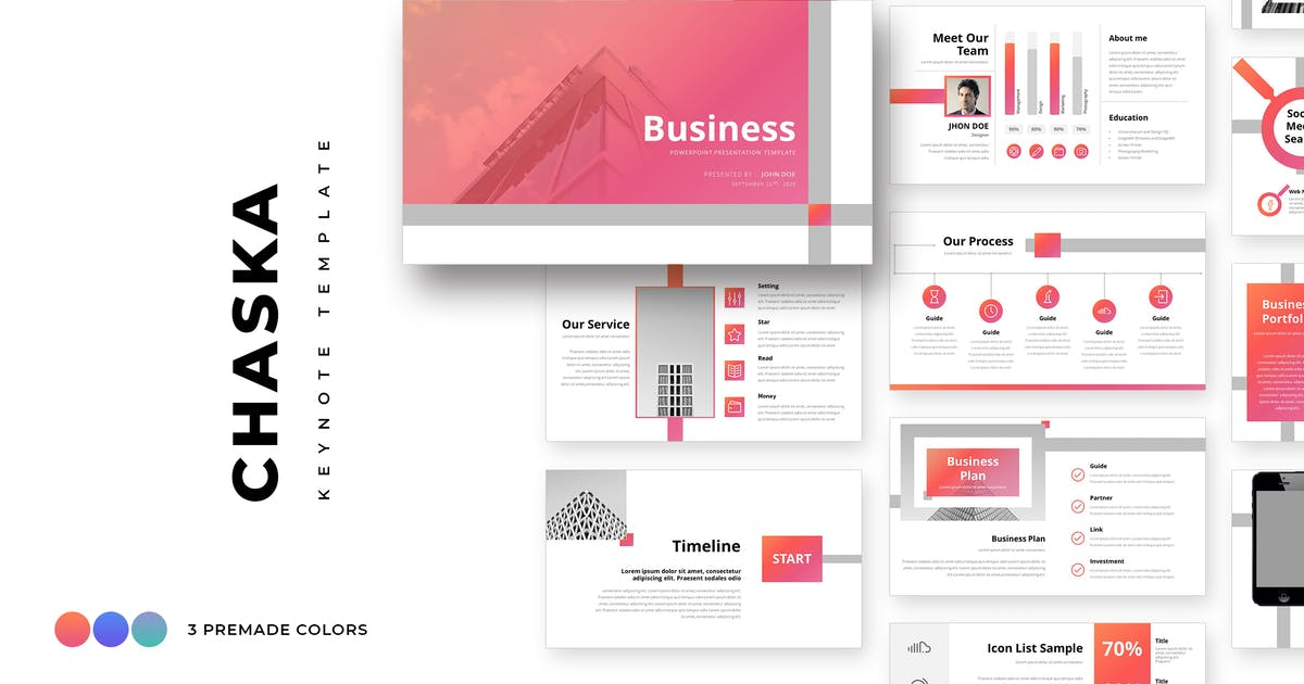 Download Chaska Business Keynote Template by graphix_shiv