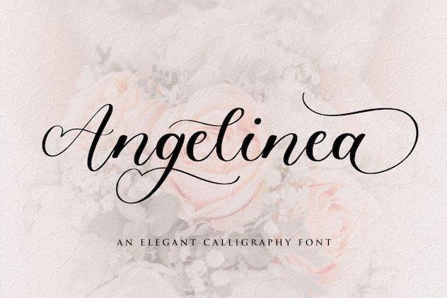 Angelinea Script Font YH