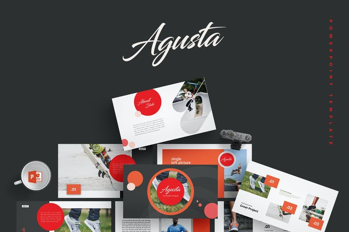 Thumbnail for Agusta - Powerpoint Template