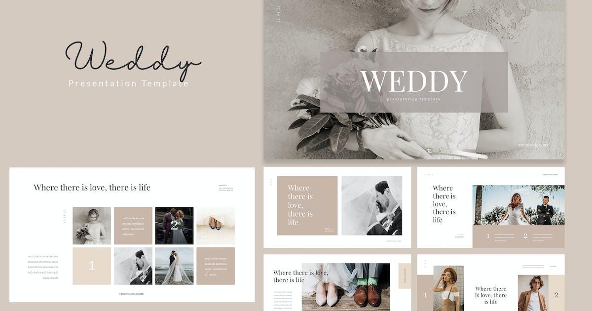 Download Weddy - Creative Wedding Powerpoint Template by naulicrea