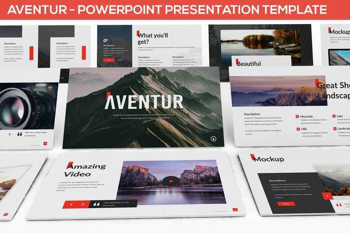 Thumbnail for Aventur - Powerpoint Presentation Template