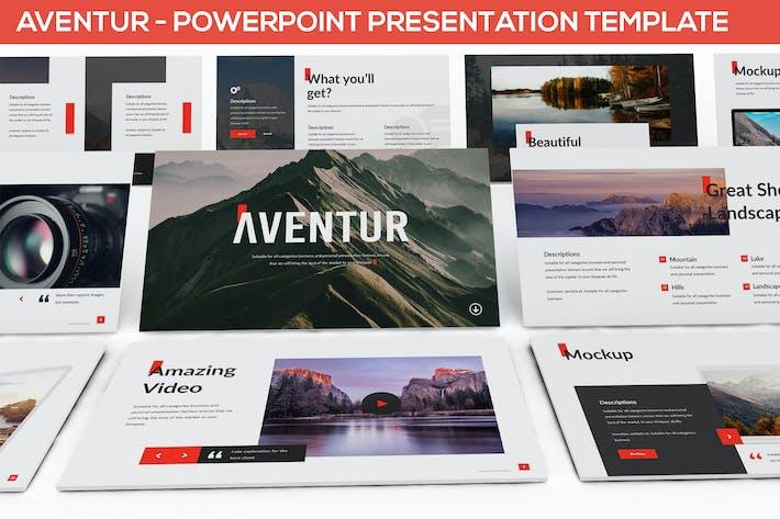 Thumbnail for Aventur - Шаблон презентации Powerpoint
