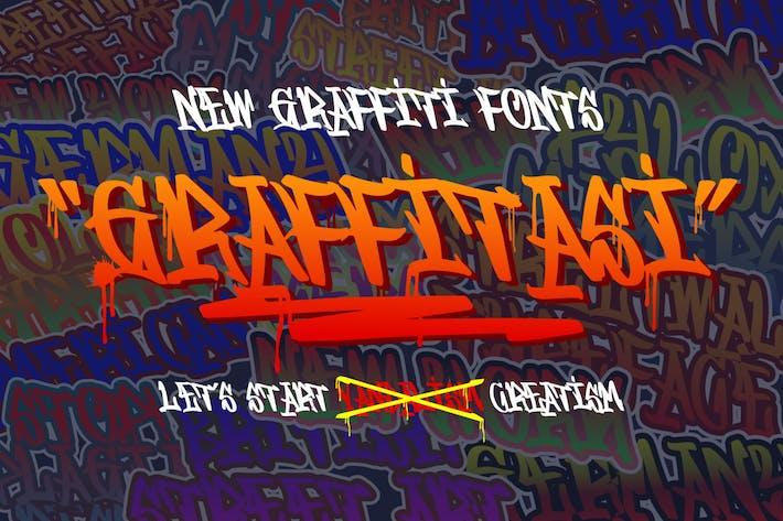 Thumbnail for Grafitasi GJ - Display Font