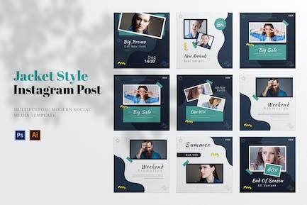Jacket Style Social Media Post