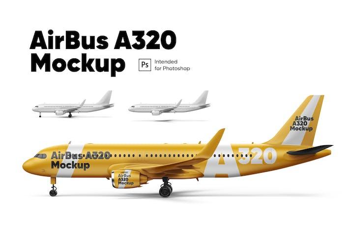 Thumbnail for AirBus A320 Mockup