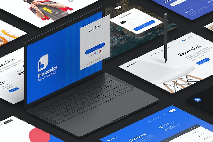 The Basics Web UI Kit