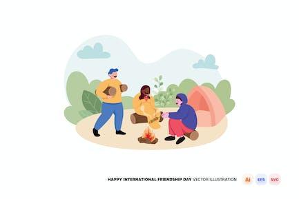 Happy International Friendship Day