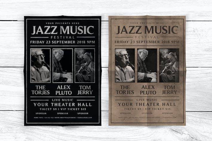 Thumbnail for Flyer du festival de musique jazz
