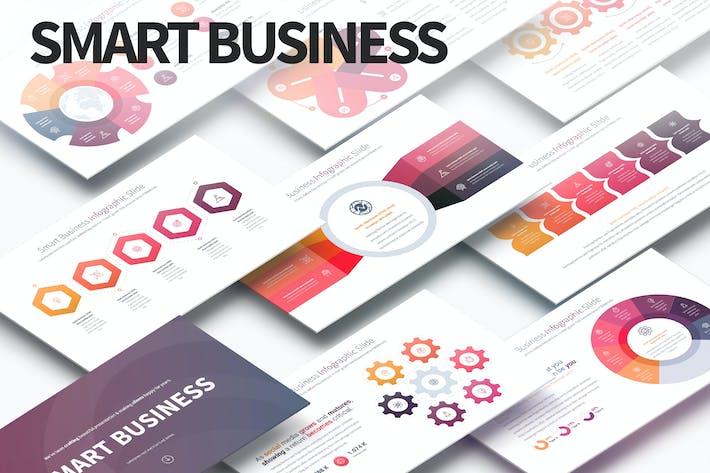 Thumbnail for Умный бизнес — слайды Инфографика PowerPoint