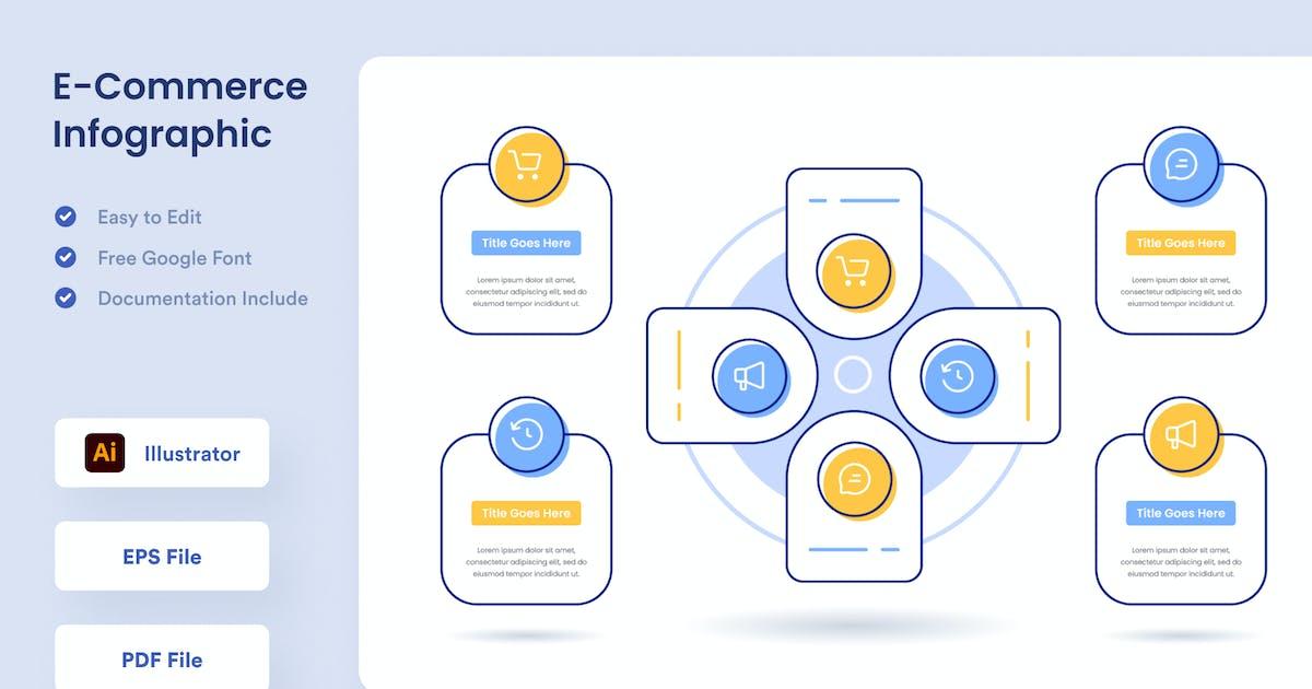 Download E-Commerce Infographic - Muzitemp by GranzCreative