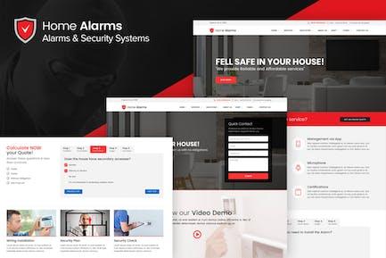 HomeAlarms - Alarmas y Sistemas de Seguridad