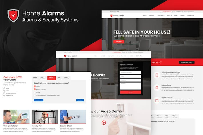 Thumbnail for HomeAlarms - Alarms and Security Systems