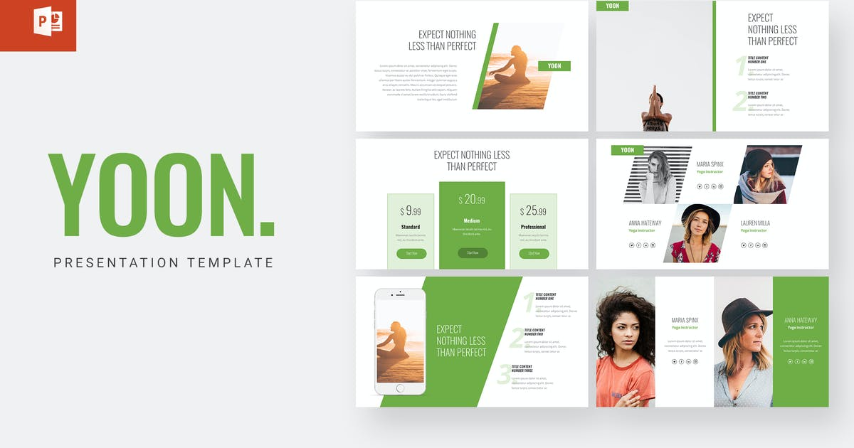 Download Yoon - Powerpoint Template by amsupply