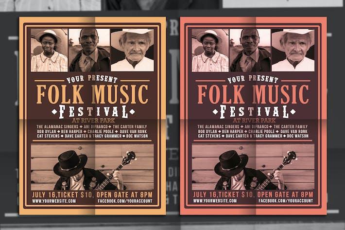 Thumbnail for Folk Music Festival