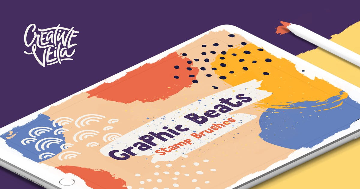 Download Graphic Beats: Brushes for ProCreate by Veila