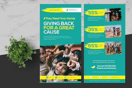Pro Charity Donation Flyer