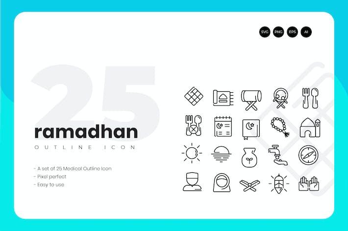 Thumbnail for Набор икон «25 Рамадан»