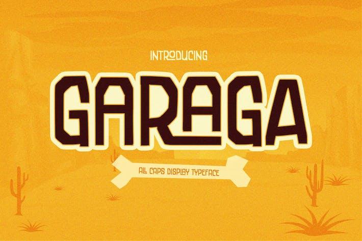 Garaga - une ligature de bloc