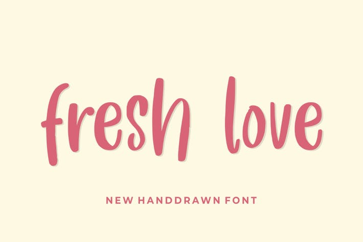 Thumbnail for Fresh Love - a Cute Handdrawn