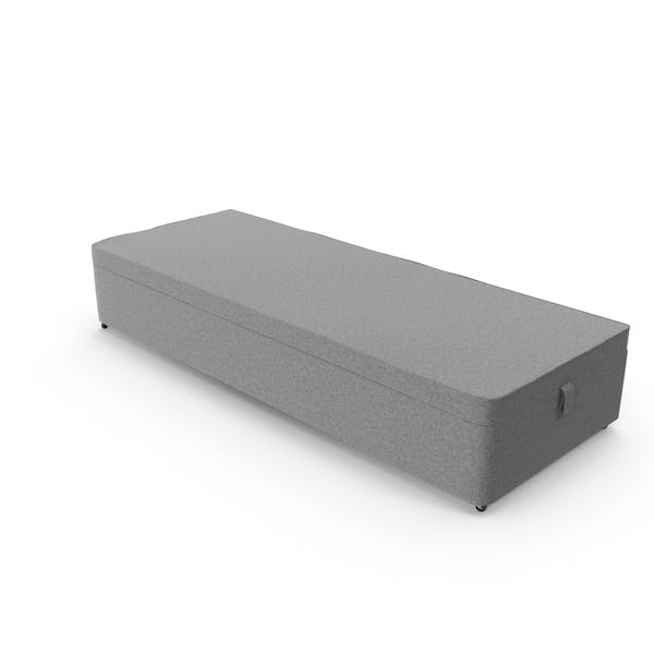 Bed Base Grey