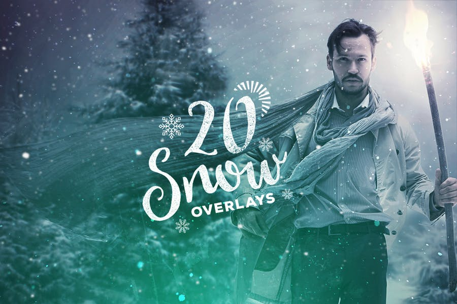 20 Snow Overlay Textures