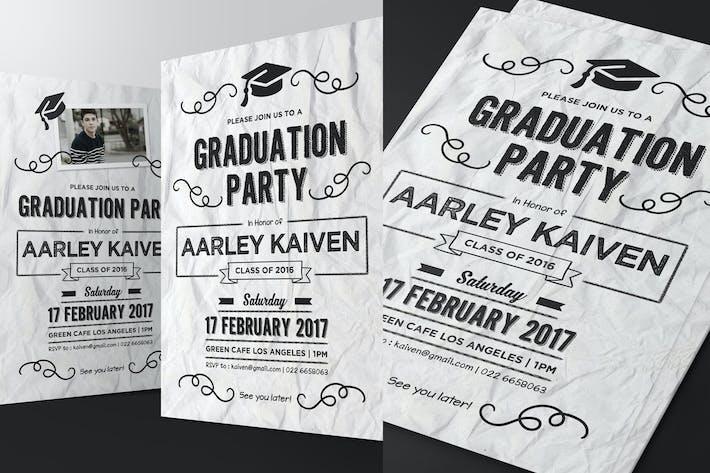 Thumbnail for Doodle Graduation Invitation