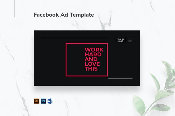 Thumbnail for Art Director Facebook Ad
