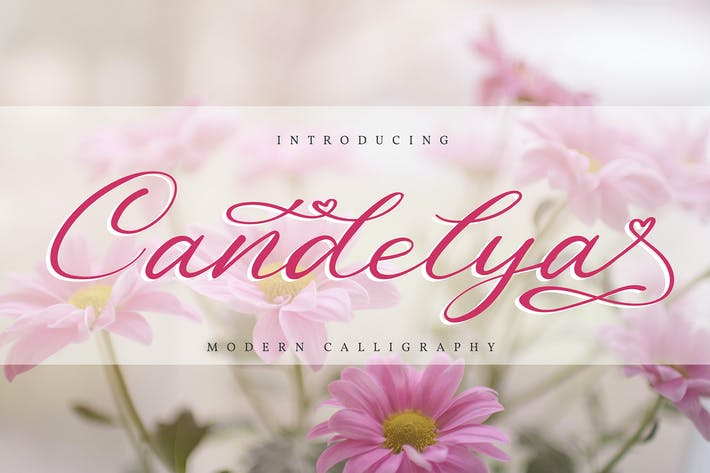 Thumbnail for Candelya | Modern Calligraphy