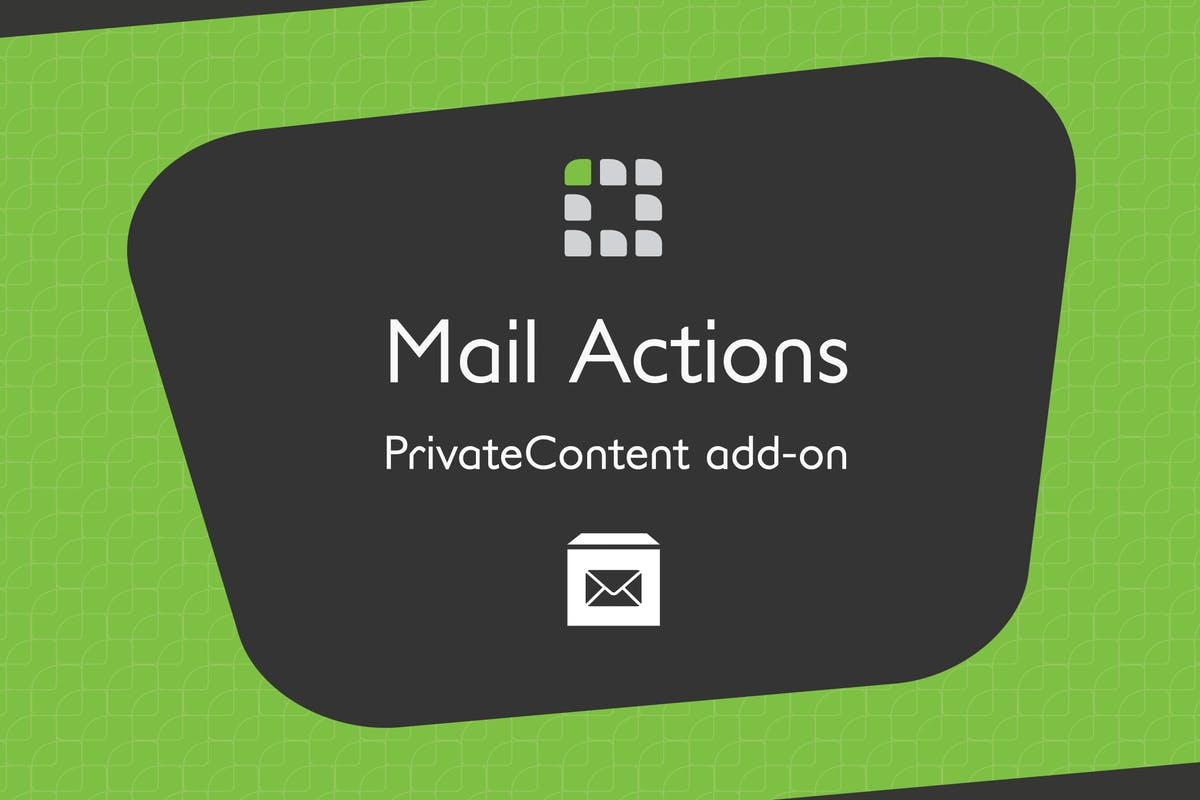 Download PrivateContent - Mail Actions add-on by LCweb by Unknow