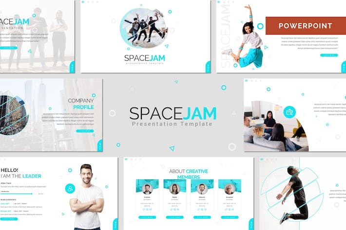 Thumbnail for Spacejam - Creative Powerpoint Template