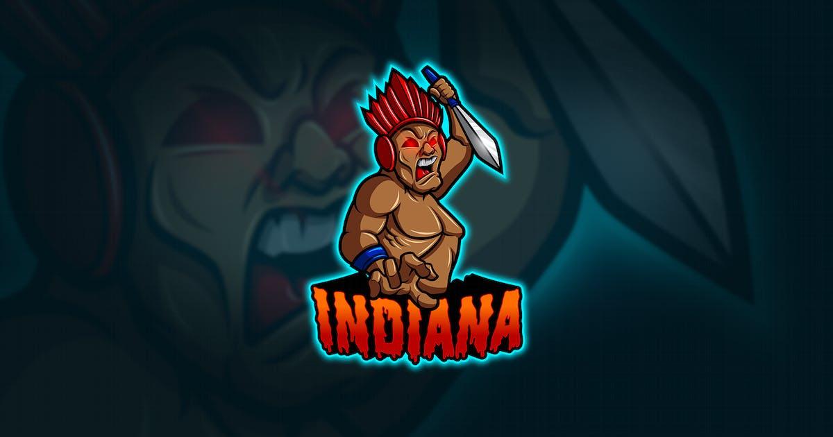Download Indiana - Mascot & Esport Logo by aqrstudio