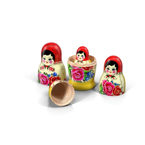 Thumbnail for Babushka Nesting Dolls