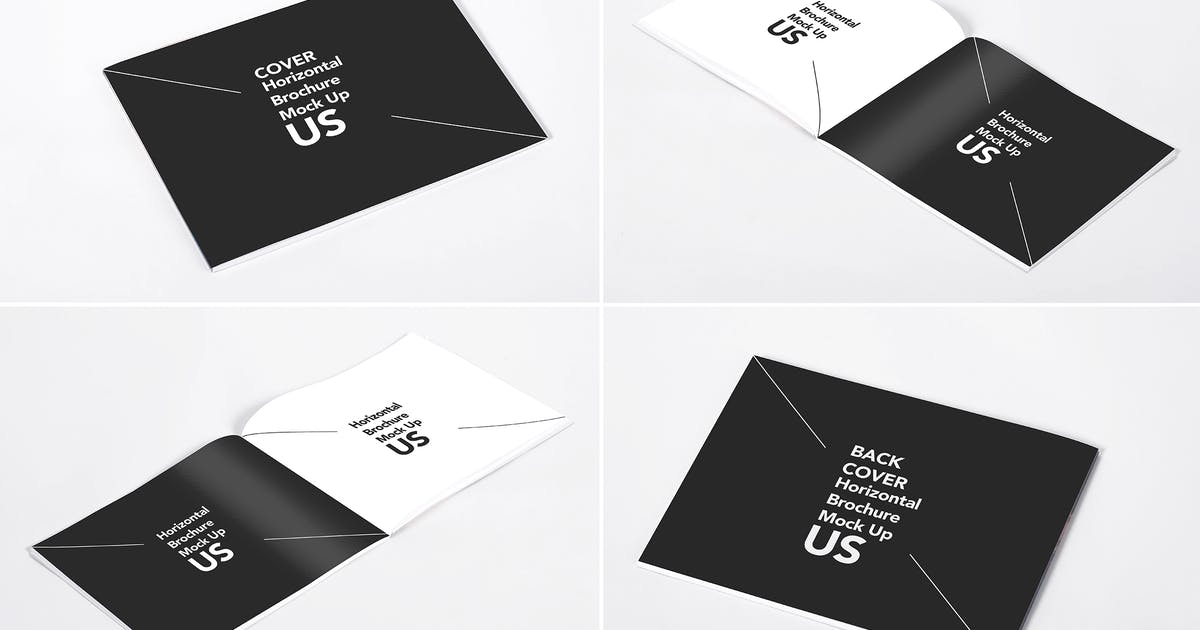 Download Horizontal Brochure US Mock Up by RetroBox