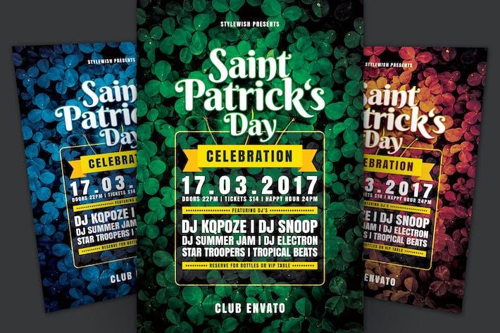 dépliant de la Journée Saint Patrick