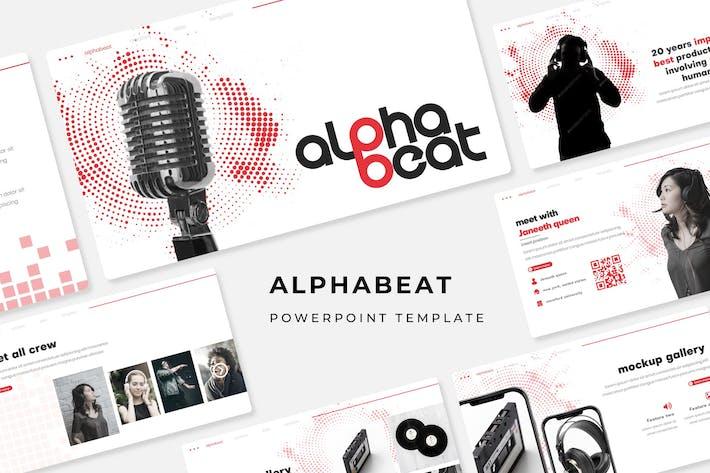 Thumbnail for Alphabeat - Plantilla de PowerPoint
