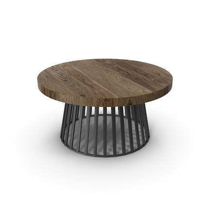 Runder Tisch im Freien