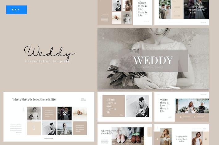 Thumbnail for Weddy - Creative Wedding Keynote Template