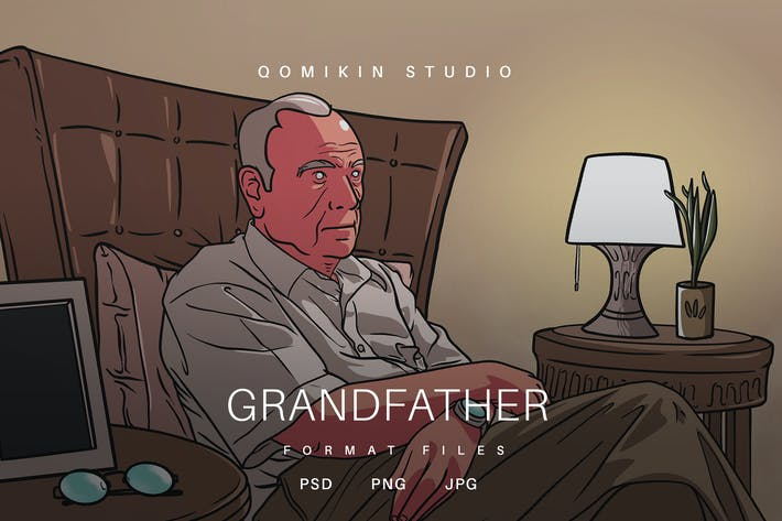 Thumbnail for Grandfather Illustration