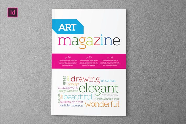 Thumbnail for ART - Magazine Template
