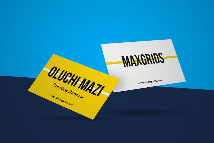 Thumbnail for Business Card Mockup 01