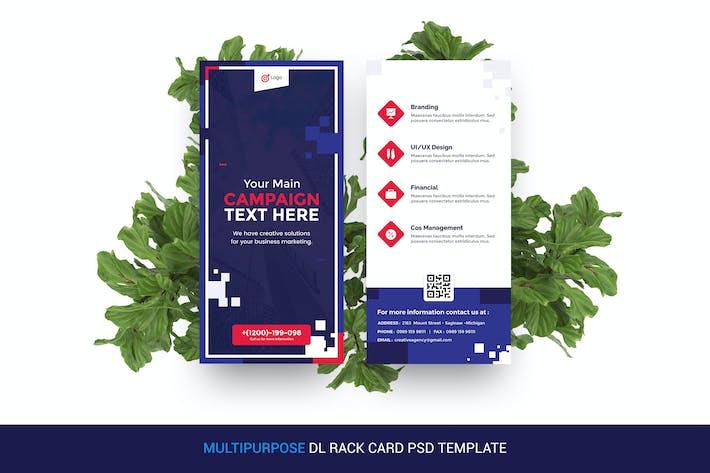 Thumbnail for Multipurpose, Creative DL Rack Card