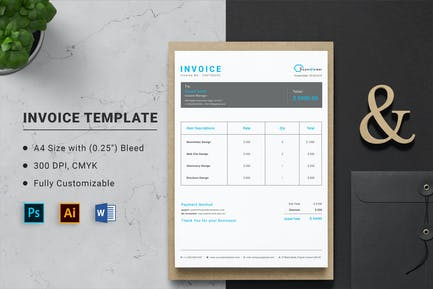 Invoice Word Template
